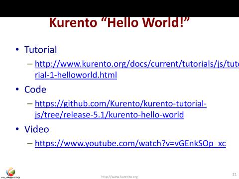 The Kurento open source media server | VIDEOTORIUM