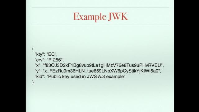 JW* (JSON,JWT,JWK,JWE,JWS) & OAuth2 Extension RFCs | VIDEOTORIUM